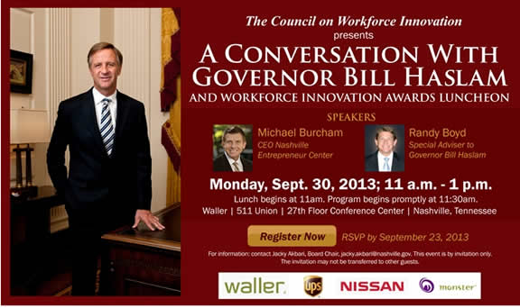 Conversations Bill Haslam
