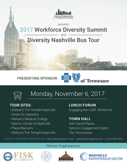 NOW Diversity Bus Tour Nov6 2017